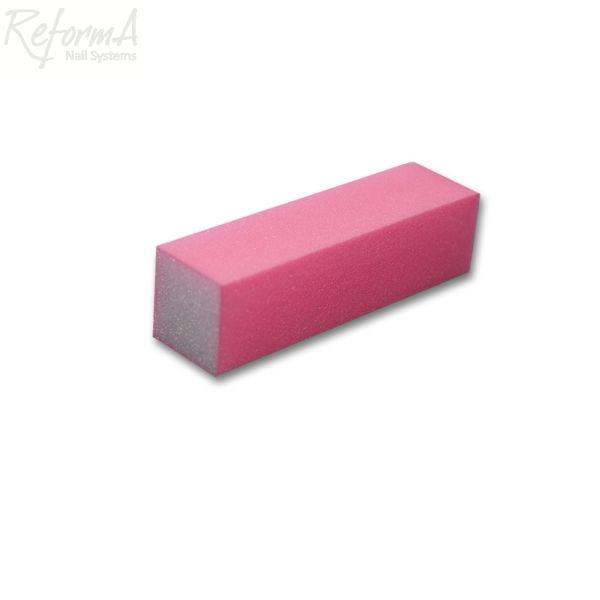 Pink buffer block, 100/100 grits