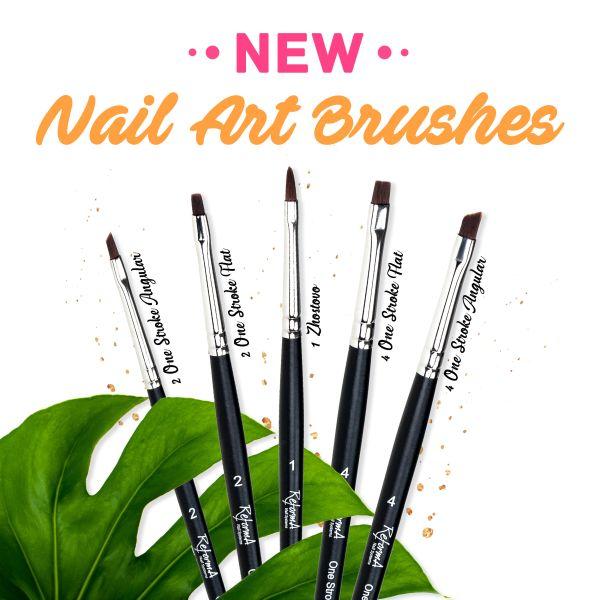Brush One Stroke Angular #4