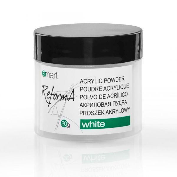 White Acrylic Powder 20 g. - perfect white  acrylic powder
