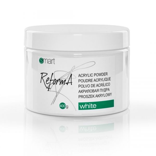 White Acrylic Powder 400 g. - perfect white acrylic powder NEW