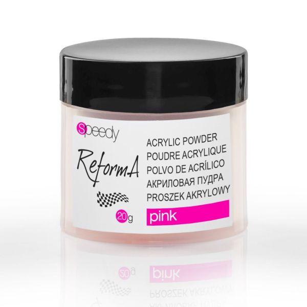 Speedy Powder Pink, 20 g. - speedy pink acrylic powder