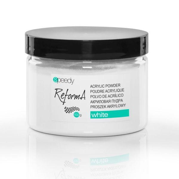 Speedy Powder White 100 g. - speedy white  acrylic powder
