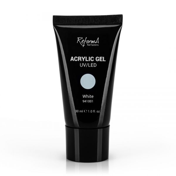 Acrylic Gel - White, 30ml