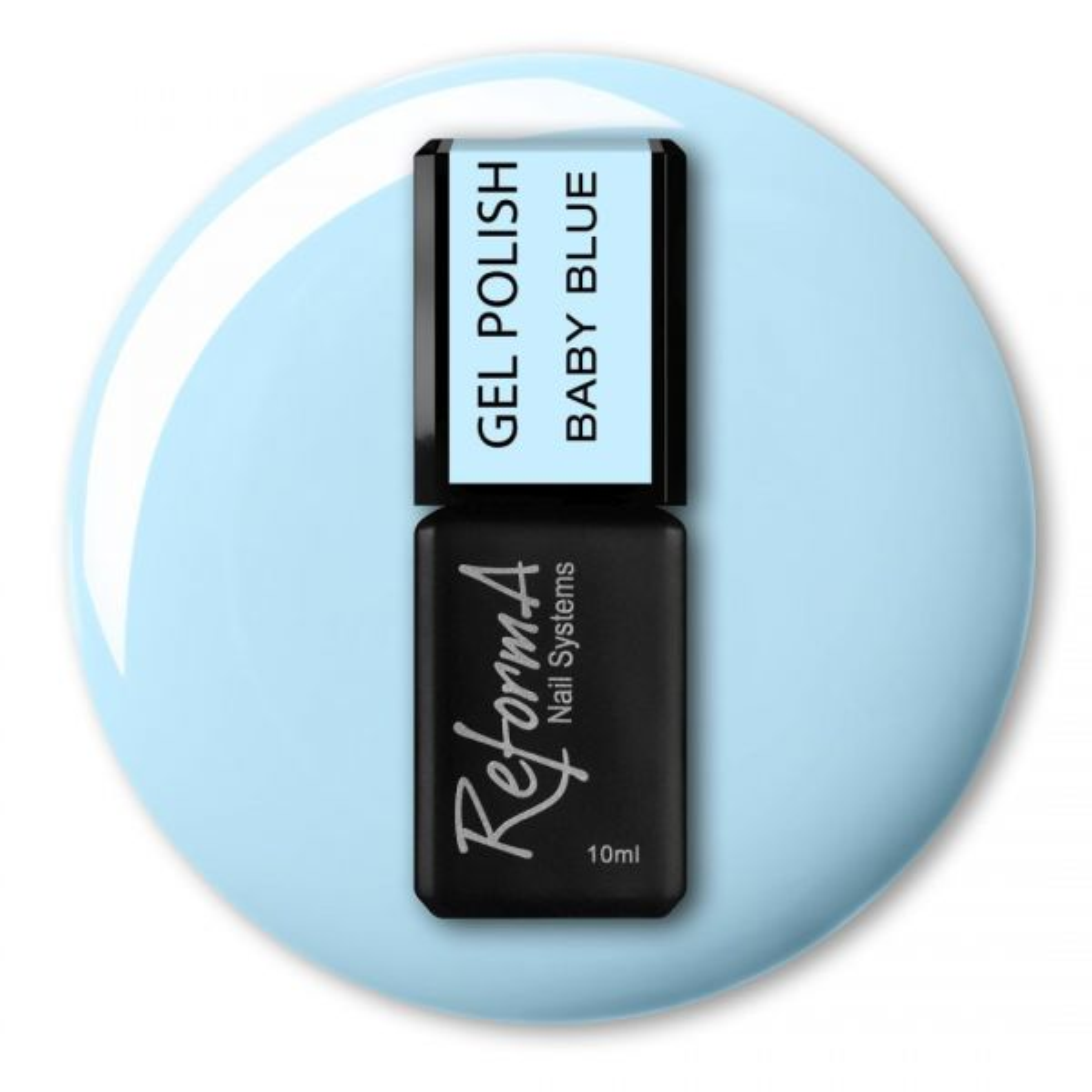 Gel Polish - Baby Blue, 10ml