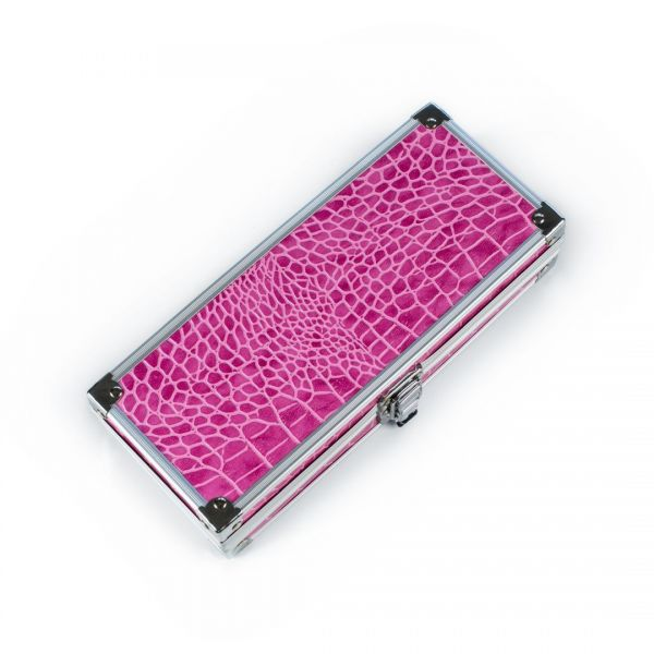 Metal pencil case - pink