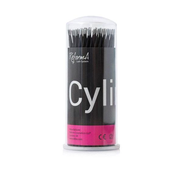 Microbrush Cylinder black dia 1.2 mm