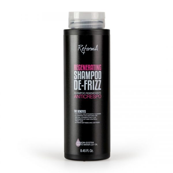 Regenerating Shampoo De-Frizz, 250 ml