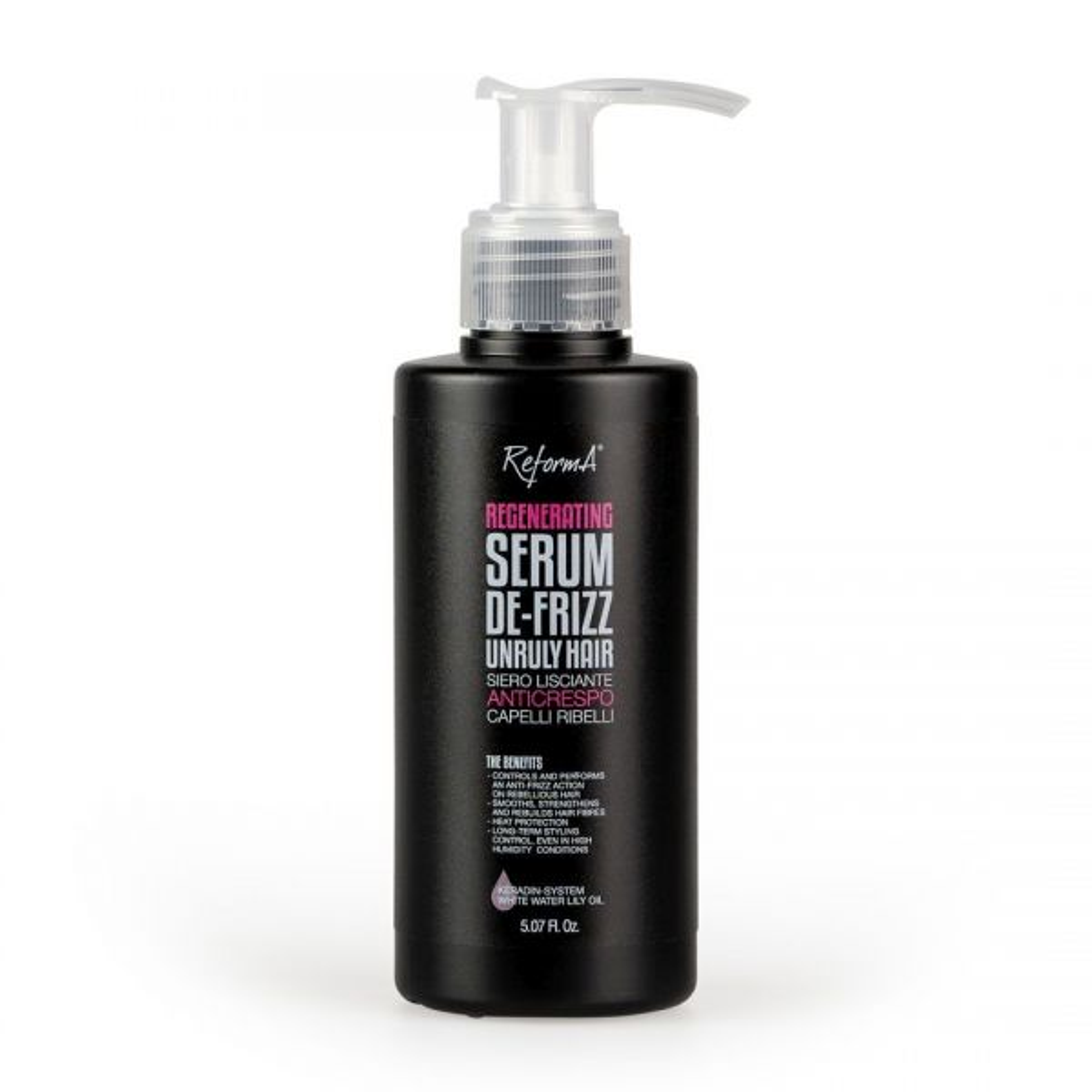 Regenerating Straightening Serum De-Frizz, 150 ml