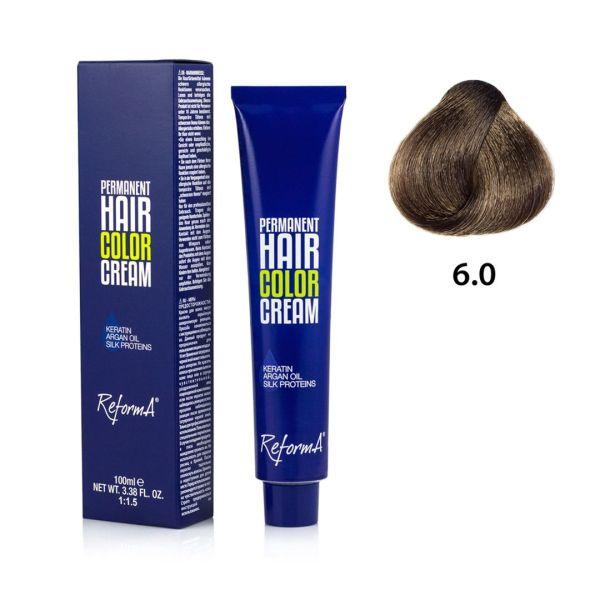 Hair Color Cream  6.0 - dark blonde, 100 ml