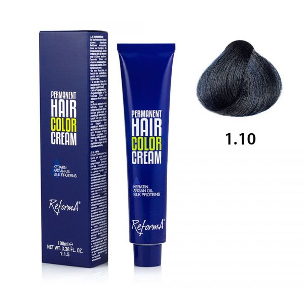 Hair Color Cream  1.10 - blue black, 100 ml