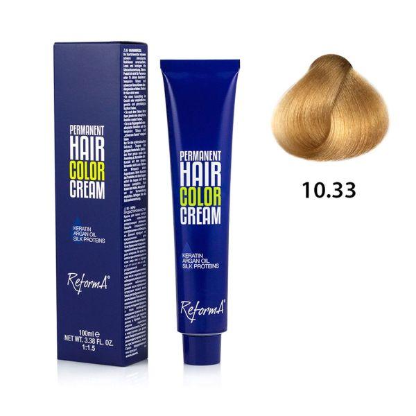 Hair Color Cream  10.33 - very light golden blond extra, 100 ml