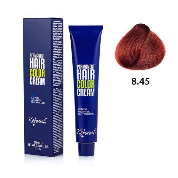 Hair Color Cream  8.45 - light copper mahogany blonde, 100 ml