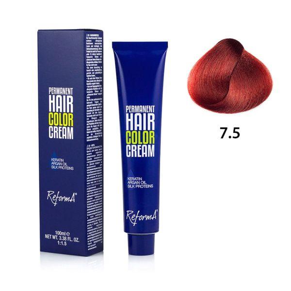Hair Color Cream  7.5 - mahogany blonde, 100 ml