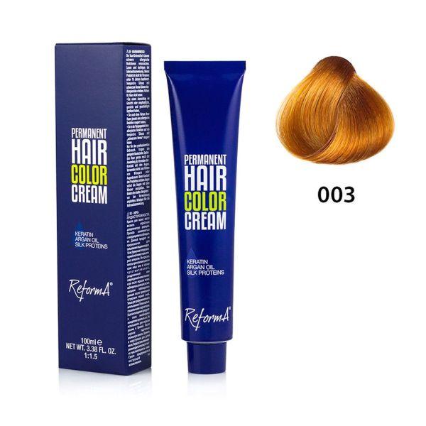 Hair Color Cream  003 - yellow, 100 ml