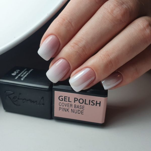 Gel Polish Cover Base Pink Nude, 3ml
