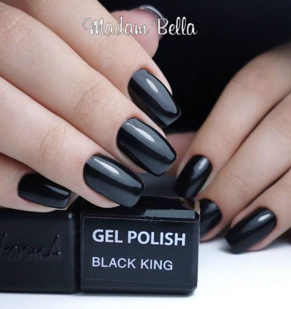 Gel Polish - Black King, 10ml