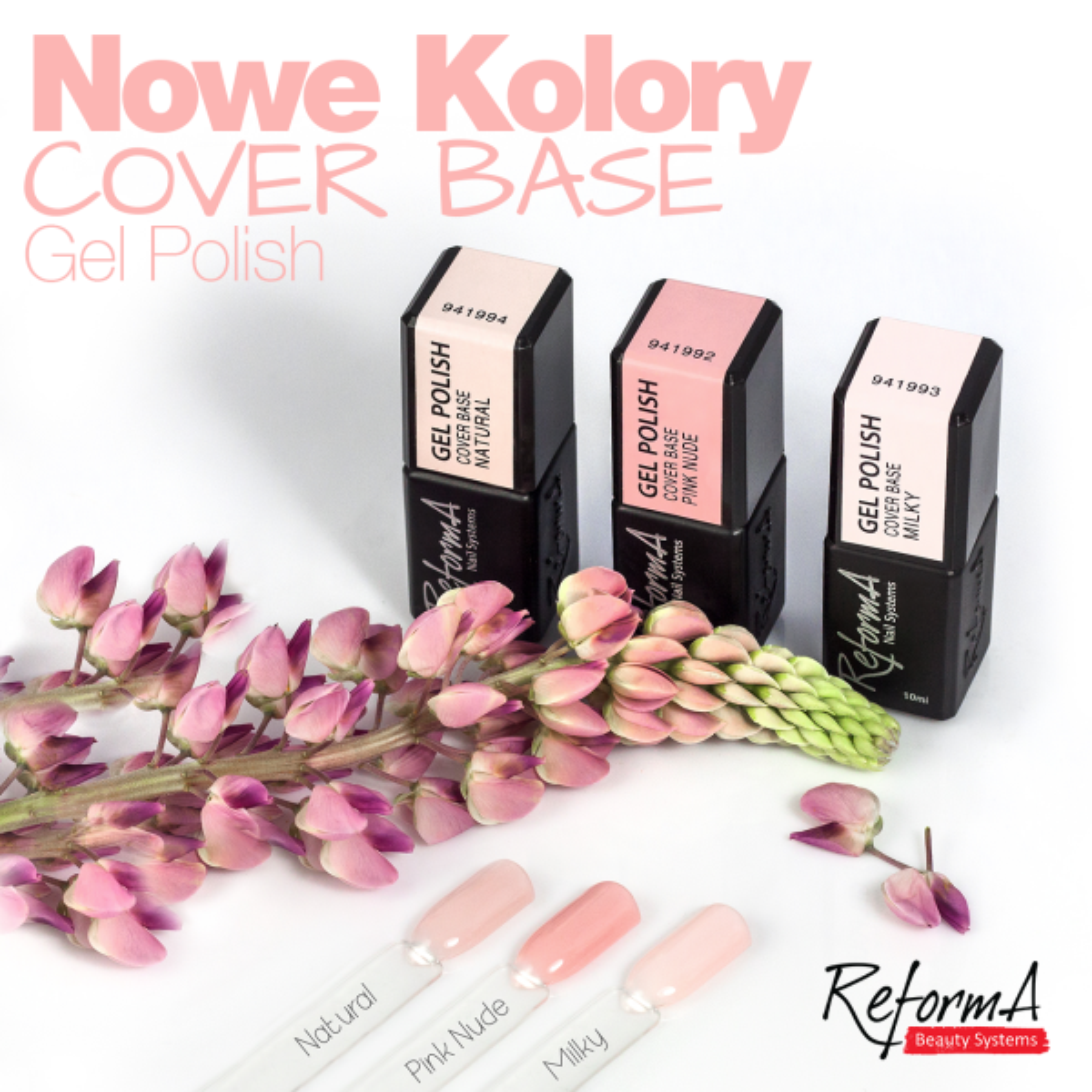 Gel Polish Cover Base Natural