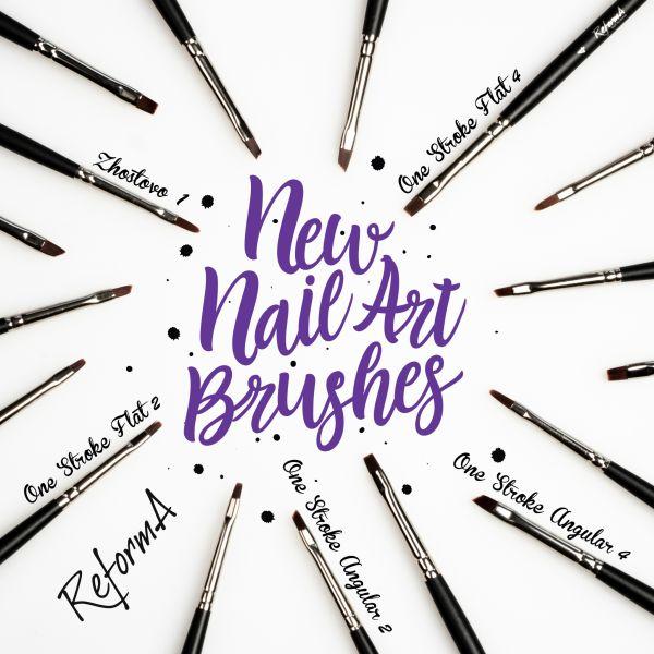 Brush One Stroke Angular #2